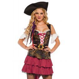 Billigt pirat kostume til sidste skoledag.