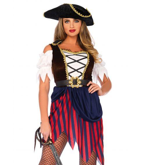 Flot pirat kostume til sidste skoledag.