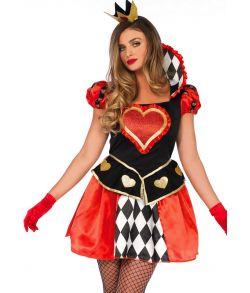 Billigt Queen of Hearts kostume.