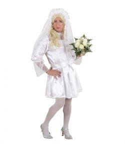 Brudekjole kostume til mænd.