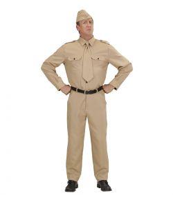 Anden Verdenskrig soldat kostume