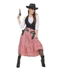 Cowgirl kostume.
