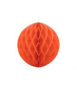 Papir kugle, orange 30 cm
