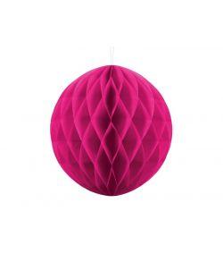 Papir kugle, pink 30 cm
