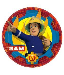 Brandmand Sam Tallerken 23 cm