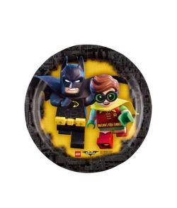 Lego Batman tallerkner 18 cm
