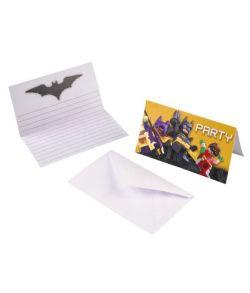 Lego Batman invitationer.