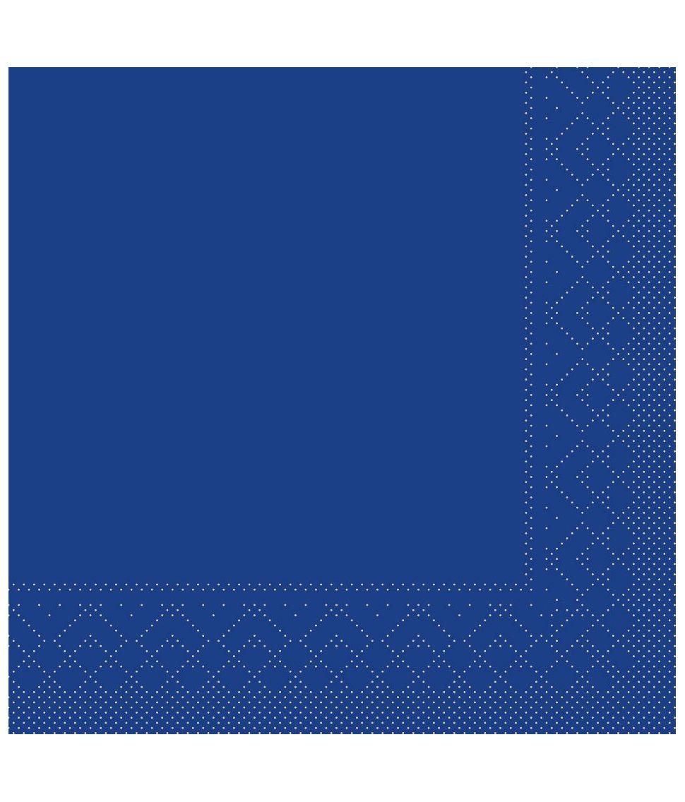 Marineblå servietter