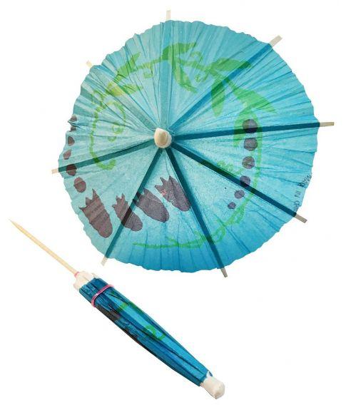 Papir parasol til drinks og desserter.