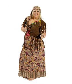 Sunny Hippie kjole til 60er udklædningen.