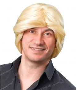 Blond 70er paryk.
