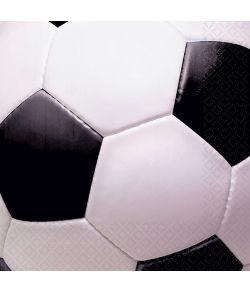 Fodbold servietter 25x25 cm