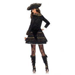 High Sea Pirate Captain kostume