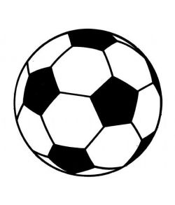 Fodbold, 18 cm