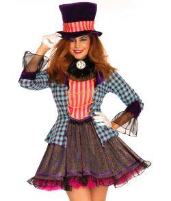Ravishing Mad Hatter kostume til damer.