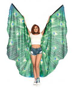 Påfuglefjer vinger