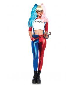 Harley Quinn kostume.