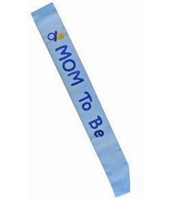 Skærf mom to be Blå