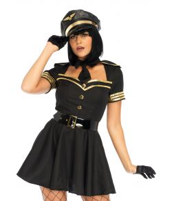 Flirty Flight Captain kostume