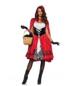 Flot Rødhætte kostume til voksne.