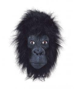 Gorilla maske med pels.