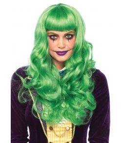 Misfit Long paryk, grøn