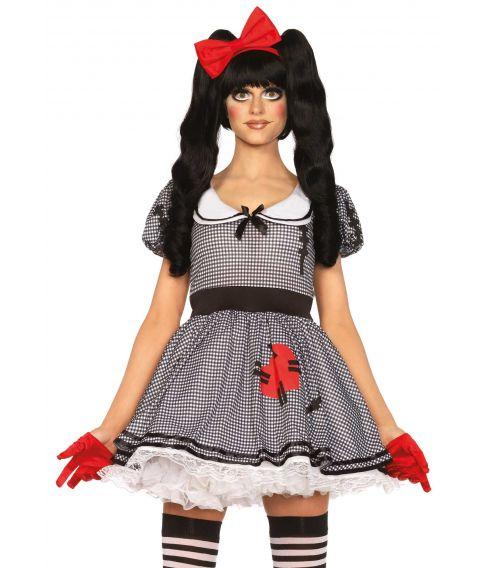Dukke kostume til sidste skoledag.