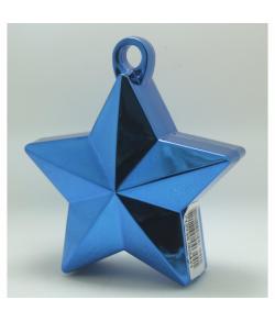 Blå Ballonvægt Stjerne