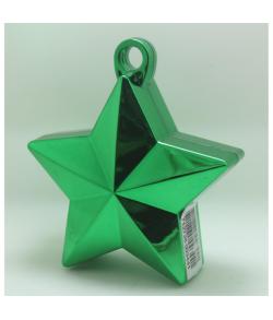 Grøn Ballonvægt stjerne