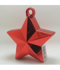 Rød Ballonvægt Stjerne
