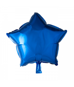 Blå folieballon, Stjerne