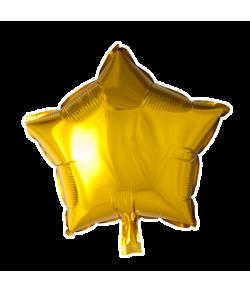 Guld folieballon, Stjerne