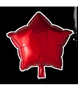 Rød folieballon, Stjerne