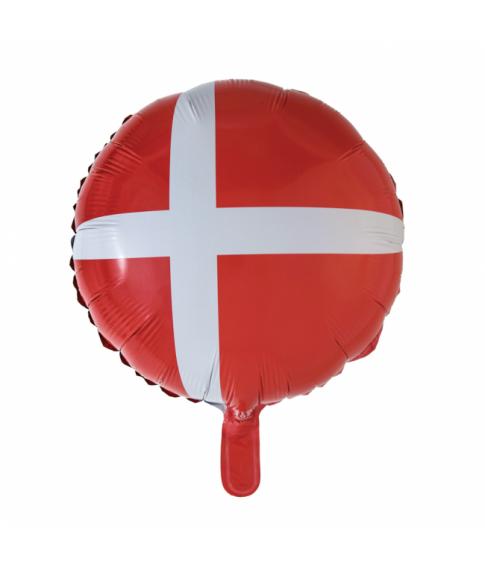 Folieballon Dannebrog
