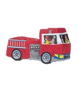 Pinata formet som en brandbil.
