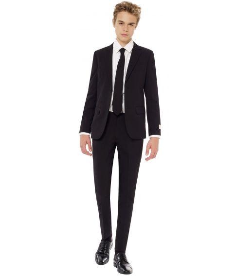 OppoSuits - Billigt sort jakkesæt til teenagere.