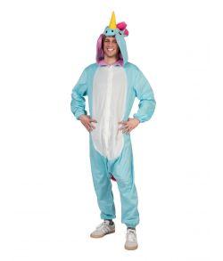 Enhjørning kostume til sidste skoledag.
