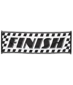Racing Finish flag 220x74 cm