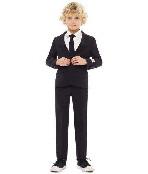 OppoSuits - Billigt sort jakkesæt til drenge.