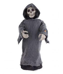 Skelet med lys, lyd og bevægelse 95 cm