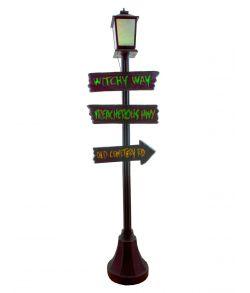 Hjemsøgt gadelampe, 180 cm.