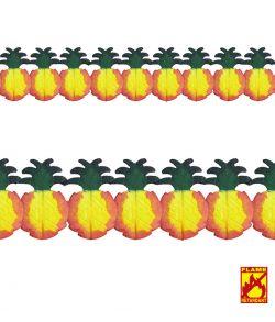 Ananas guirlande til Hawaii festen.