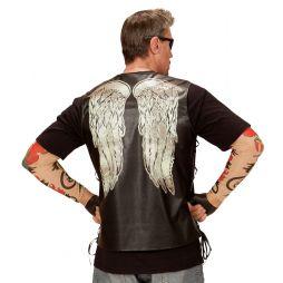 Rockervest med vinger