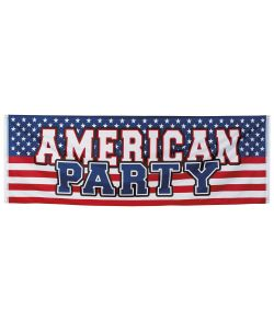 USA party banner