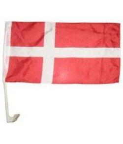 Danmarks flag til bilruden