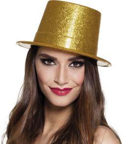 Høj guld hat