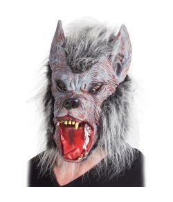 Varulv maske med pels