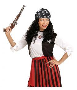 Piratbandana til piratudklædning.