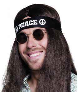 Peace pandebånd, sort