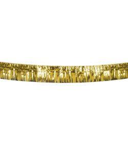 Foliebanner guld 6m